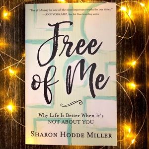 Free of Me Not About You by Sharon Miller Book